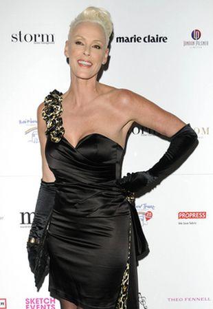 Brigitte Nielsen w sukience Pia Michi (FOTO)