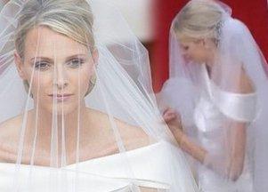 Suknia ślubna Charlene Wittstock
