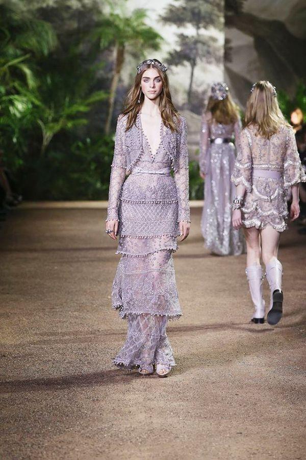 Haute Couture wg Elie Saaba - kolekcja wiosna/lato 2016