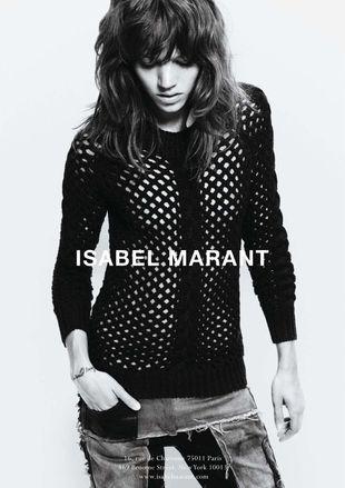 Freja Beha Erichsen w kampanii Isabel Marant (FOTO)
