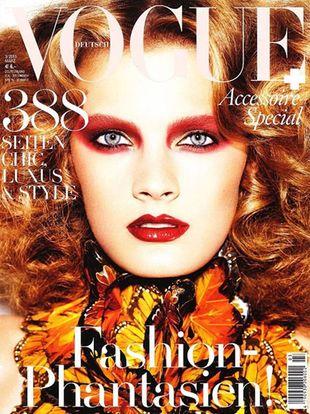 Constance Jablonski dla Vogue Germany