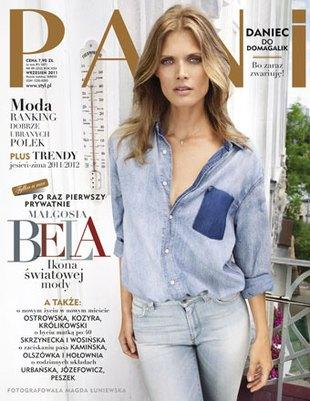 Małgosia Bela w magazynie Pani