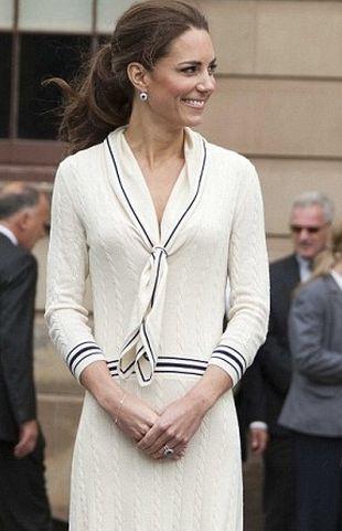 Księżna Catherine w sukience Alexandra McQueena (FOTO)