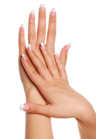 Żelowy manicure