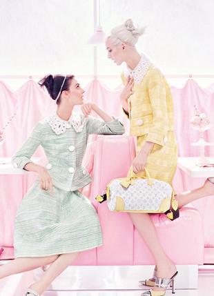 Cukierkowa kampania domu mody Louis Vuitton