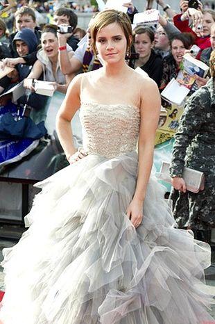 Emma Watson w sukni Oscara de la Renta (FOTO)