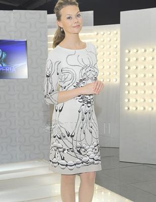 Ciekawa sukienka Tamary Arciuch