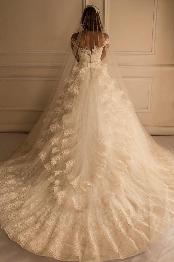 Bajeczne suknie ślubne Yasmine Yeya Couture (FOTO)