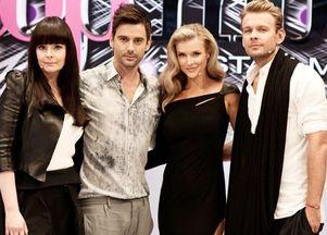 Wystylizowana ekipa Top Model