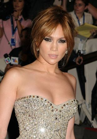 Jennifer Lopez w stylu starego Hollywood