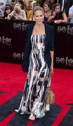 Sarah Jessica Parker w sukni Oscara de la Renta (FOTO)