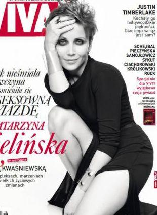 Seksowna Kasia Zielińska w magazynie Viva!