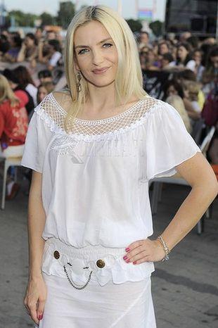 Biała sukienka Mai Frykowskiej (FOTO)