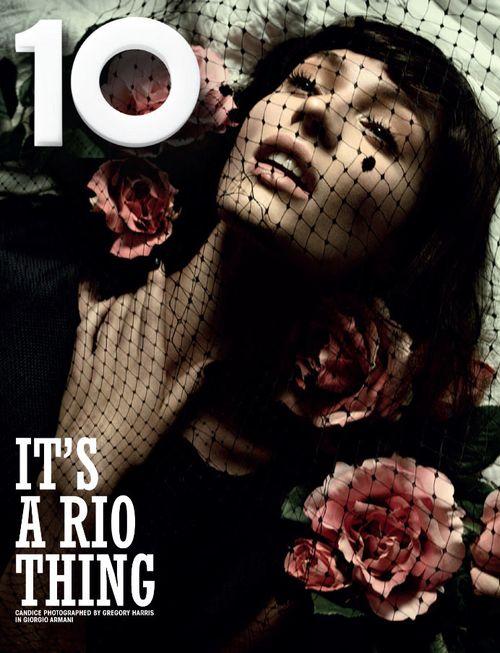 Crystal Renn i Candice Swanepoel dla 10 Magazine