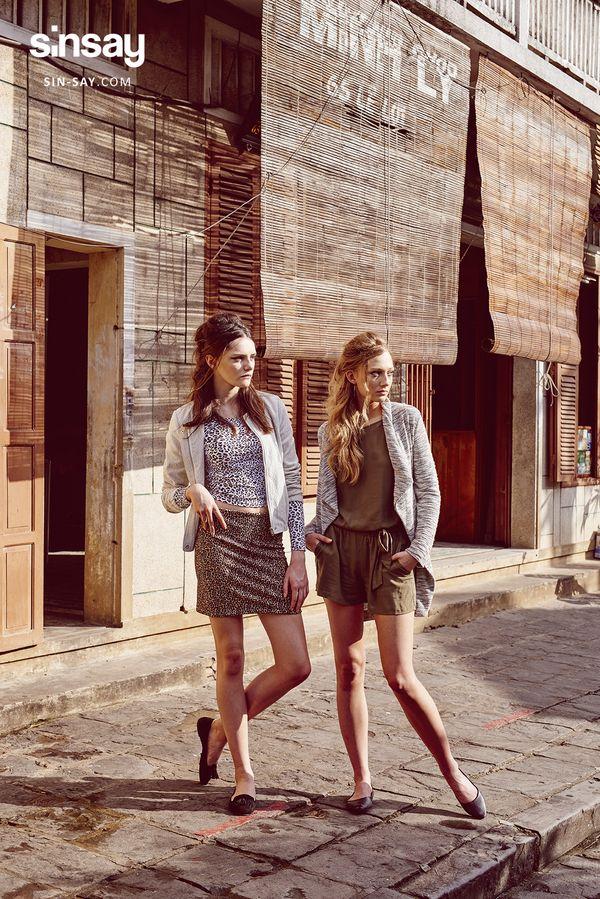 SiNSAY i drapieżny lookbook Urban Safari (FOTO)