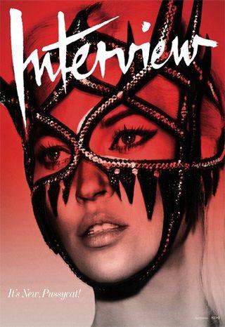 Kate Moss w sesji dla Interview