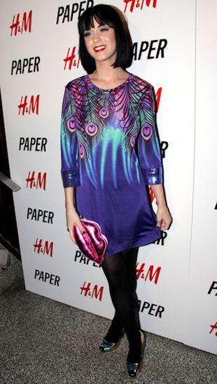 Katy Perry w pawich piórkach od Williamsona