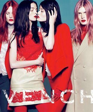 Transseksualna modelka w kampanii Givenchy