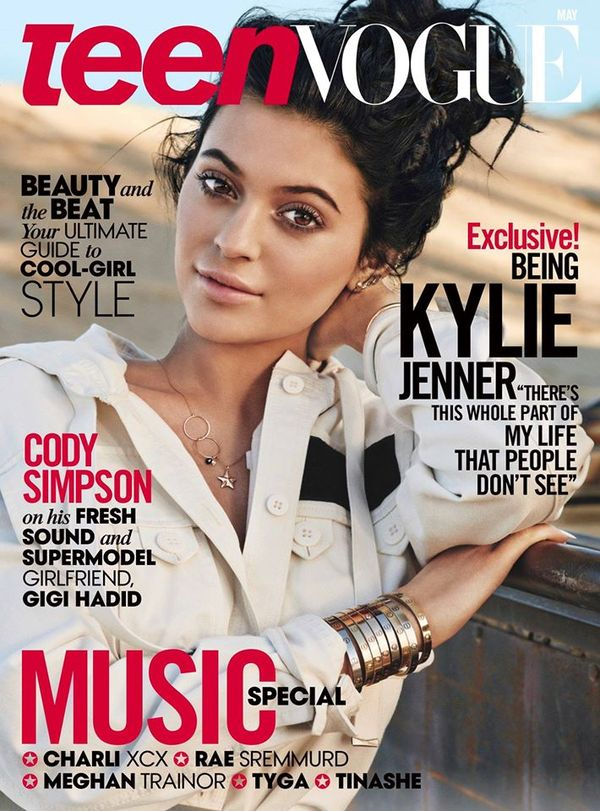 Kendall Jenner również doczekała się okładki w Vogue (FOTO)