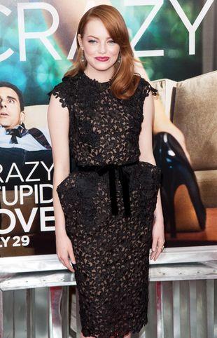 Emma Stone w małej czarnej od Toma Forda (FOTO)
