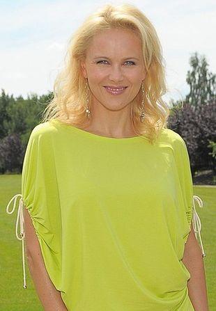 """Anna Samusionek w żółtym """"worku"""" (FOTO)"""