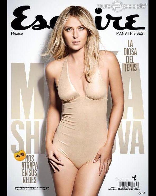 Maria Sharapova pokazuje zgarbne kształty w Esquire
