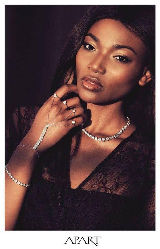 Przepiękna Osi Ugonoh w najnowszej kampanii marki Apart