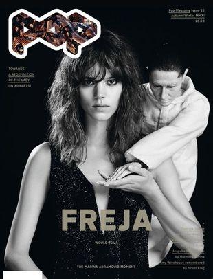 Freja Beha Erichsen & Georgia May Jagger na okładkach POP