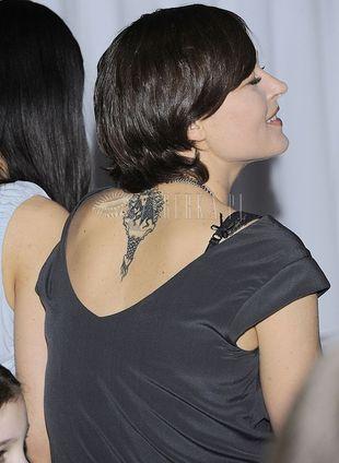 Tatuaż Beaty Sadowskiej