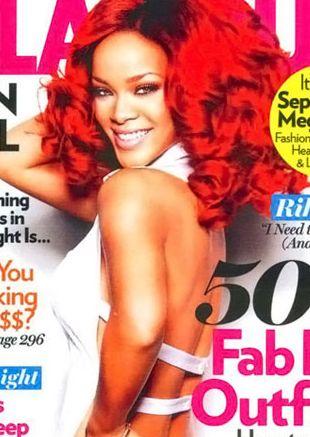 Rihanna chwali się zgrabną pupą (FOTO)