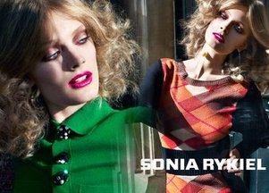 Constance Jablonski dla Sonii Rykiel (FOTO)