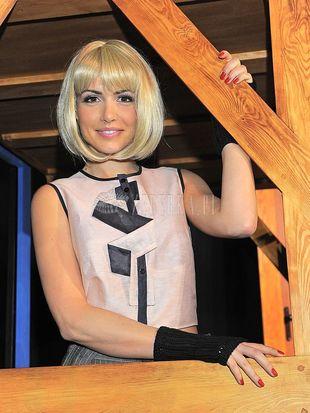Marta Żmuda-Trzebiatowska jako blondynka