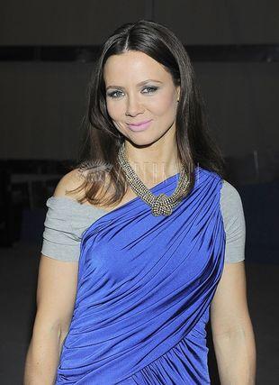 Kinga Rusin w oryginalnym sari