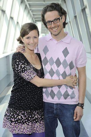 Monika Mrozowska i Maciej Szaciłło wiosennie
