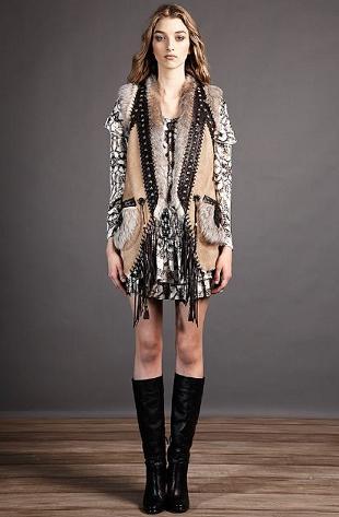 Just Cavalli - kolekcja Pre-Fall 2012