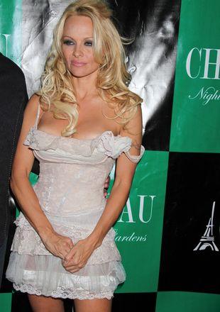 Pamela Anderson znowu odsłoniła to i owo (FOTO)