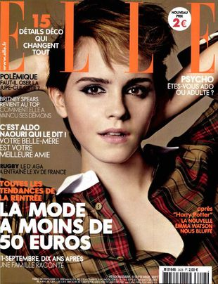 Emma Watson dla Elle France