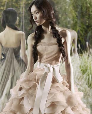 Azjatyckie piękności dla Very Wang