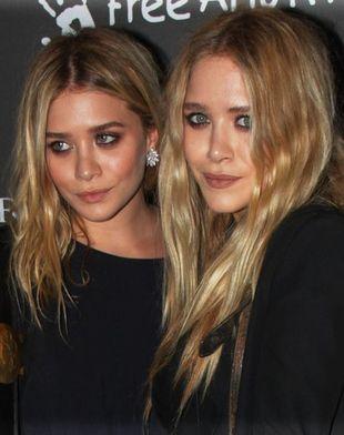 Siostry Olsen minimalistycznie w czerni