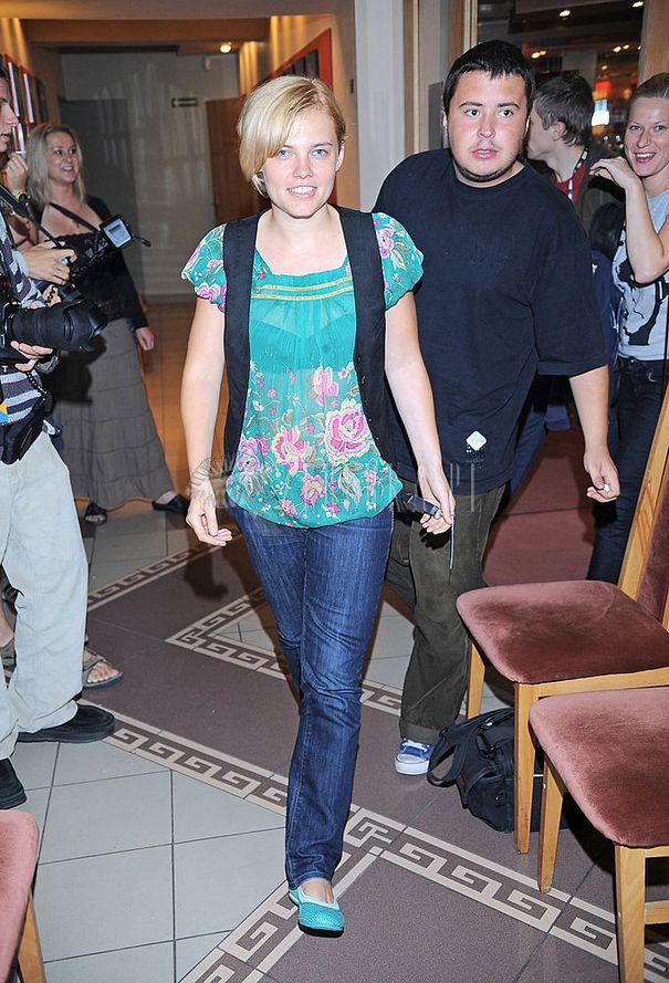 Różana bluzka Ani Dąbrowskiej