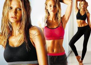Seksowna na siłowni z Victoria's Secret