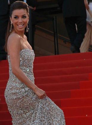Eva Longoria na festiwalu w Cannes