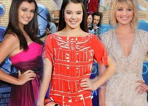 Stylizacje na premierze filmu Glee 3D