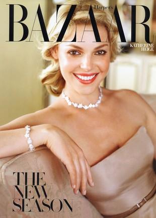 Katherine Heigl w Harper's Bazaar