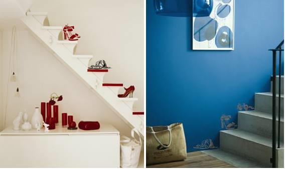 Buty na ścianie