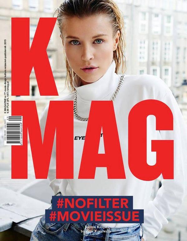 Znana modelka bez filtrów i Photoshopa na okładce K MAG