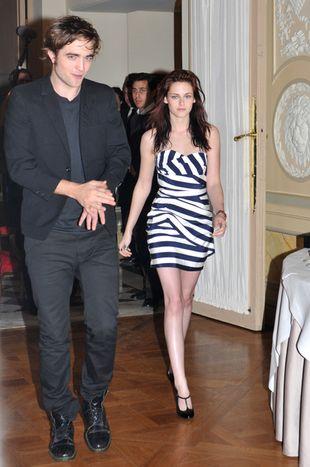 Kristen Stewart i Robert Pattinson w Paryżu