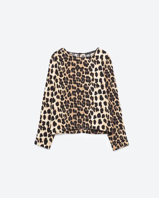 Zara Denim Animal - Jeans i zwierzęce akcenty na jesień 2016