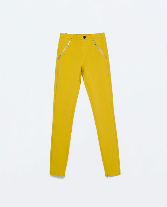 Zara TRF - Żółte akcenty w nowościach na wiosnę (FOTO)