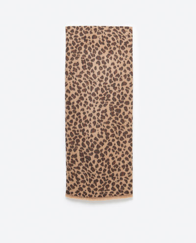 Zara Animal Instinct - Zwierzęce akcenty w kolecji na jesień